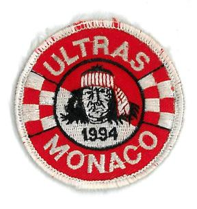 Cusson en tissu de l 39 as monaco fc - Ecusson monaco ...